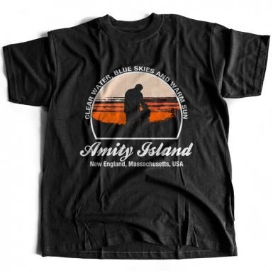 Amity Island Mens T-shirt