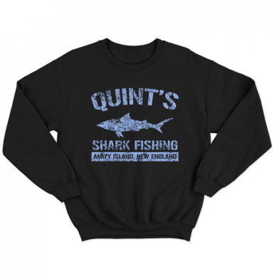 Quint's Shark Fishing Unisex Sweatshirt