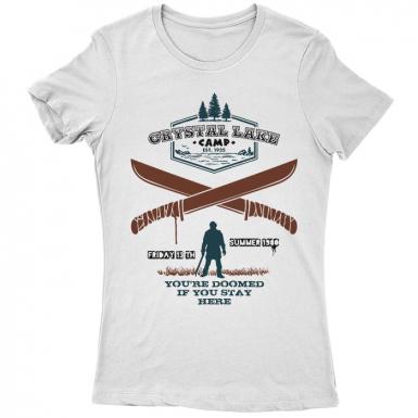 Camp Crystal Lake Womens T-shirt