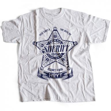 Sheriff Hoyt Mens T-shirt