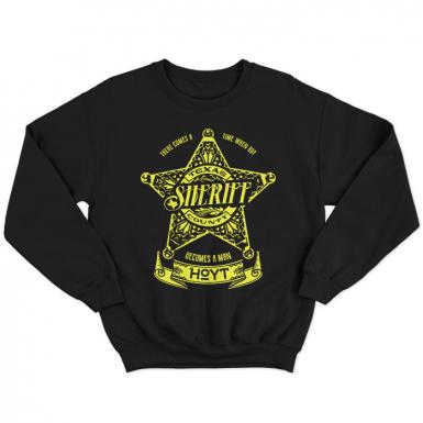 Sheriff Hoyt Unisex Sweatshirt