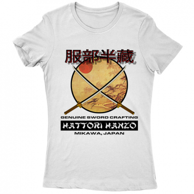 Hattori Hanzo Swords Womens T-shirt