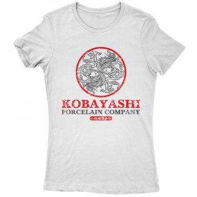 Kobayashi Porcelain Company Womens T-shirt