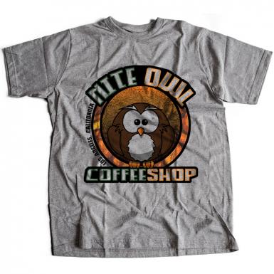 Nite Owl Coffee Shop Mens T-shirt