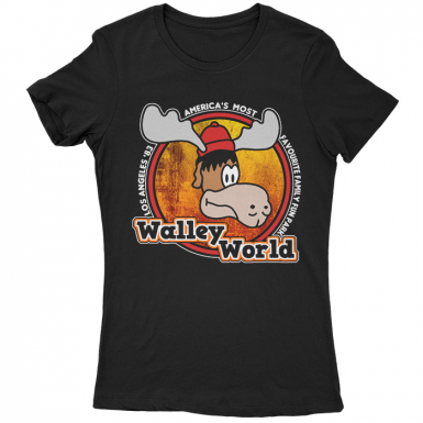 Walley World Of Adventures Womens T-shirt