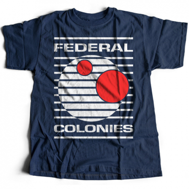 Federal Colonies Mens T-shirt