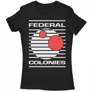 Federal Colonies Womens T-shirt