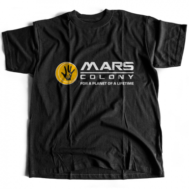 Mars Colony Mens T-shirt