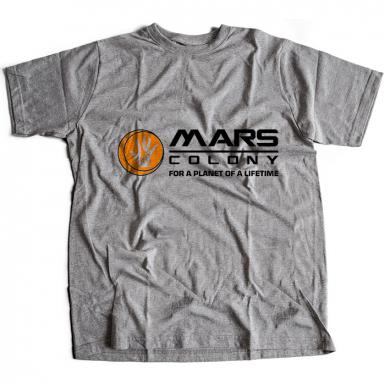 Mars Colony Mens T-shirt