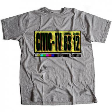 Civic TV Mens T-shirt