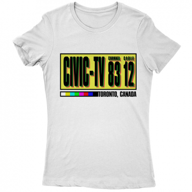 Civic TV Womens T-shirt