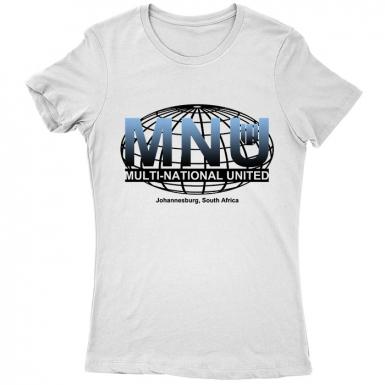 Multi-National United MNU Womens T-shirt