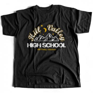 Hill Valley High Mens T-shirt