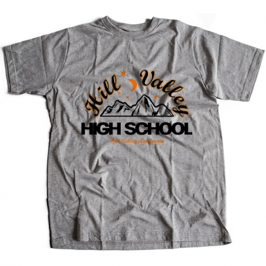 Hill Valley High Mens T-shirt