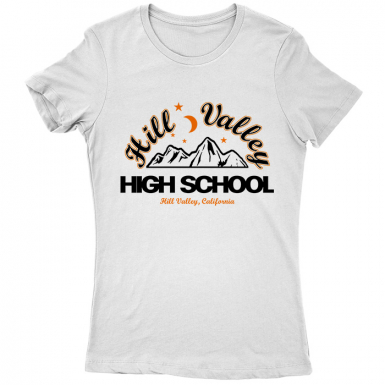 Hill Valley High Womens T-shirt