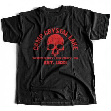 Camp Crystal Lake Mens T-shirt