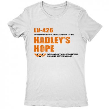 LV-426 Hadley's Hope Womens T-shirt