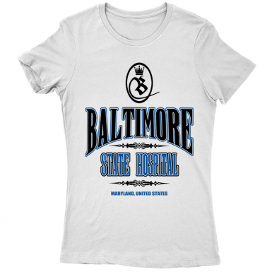Baltimore State Hospital Womens T-shirt