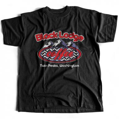 Black Lodge Coffee Mens T-shirt