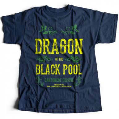 Dragon Of The Black Pool Mens T-shirt