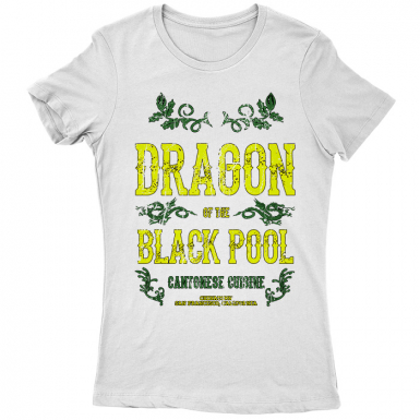 Dragon Of The Black Pool Womens T-shirt