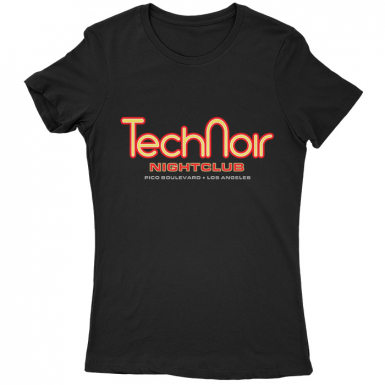 Tech Noir Nightclub Womens T-shirt
