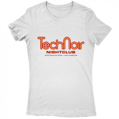 Tech Noir Nightclub Womens T-shirt