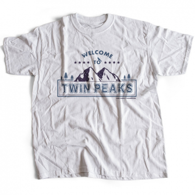 Welcome to Twin Peaks Mens T-shirt