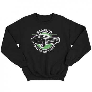 Singer Salvage Auto Yard Unisex Sweatshirt