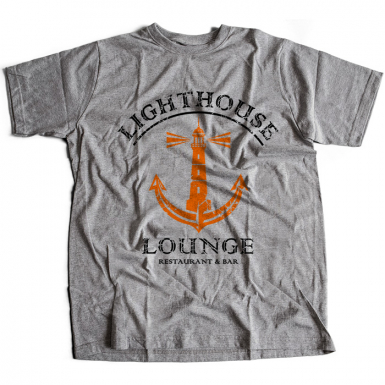 Lighthouse Lounge Mens T-shirt