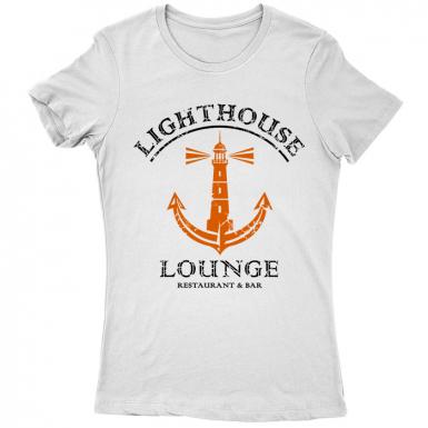 Lighthouse Lounge Womens T-shirt