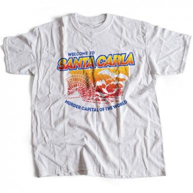 Santa Carla Mens T-shirt