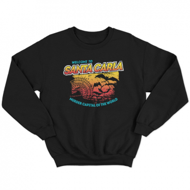 Santa Carla Unisex Sweatshirt