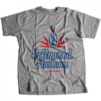 Hollywood Star Lanes Mens T-shirt