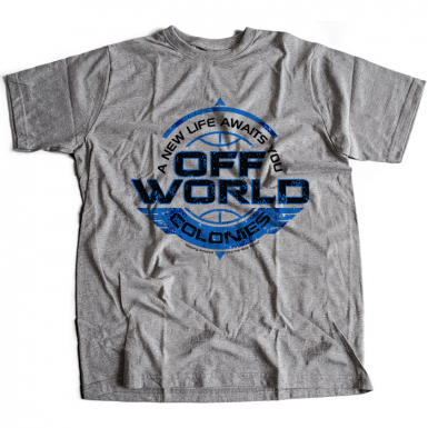 Off World Colonies Mens T-shirt