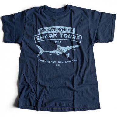 Great White Shark Tours Mens T-shirt