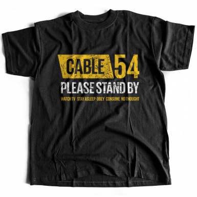 Cable 54 Mens T-shirt