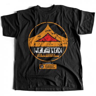 Houston Rollerball Mens T-shirt