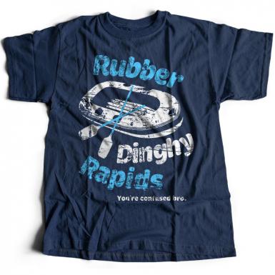 Rubber Dinghy Rapids Mens T-shirt