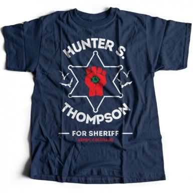 Hunter S Thompson Mens T-shirt