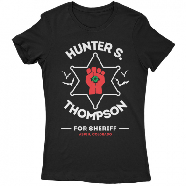 Hunter S Thompson Womens T-shirt