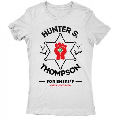 Hunter S Thompson Womens T-shirt
