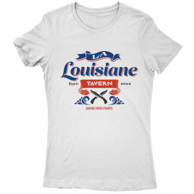La Louisiane Tavern Womens T-shirt