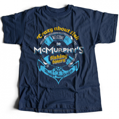 McMurphy Fishing Mens T-shirt