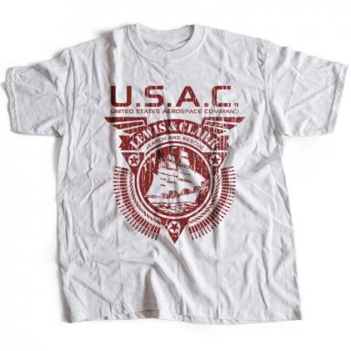 USAC Lewis & Clark Mens T-shirt