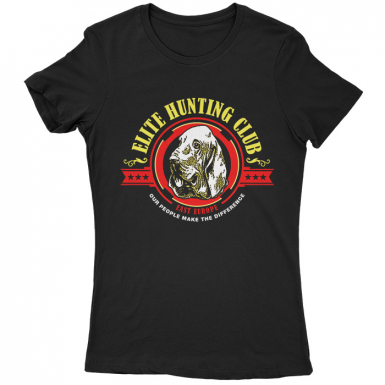 Elite Hunting Club Womens T-shirt