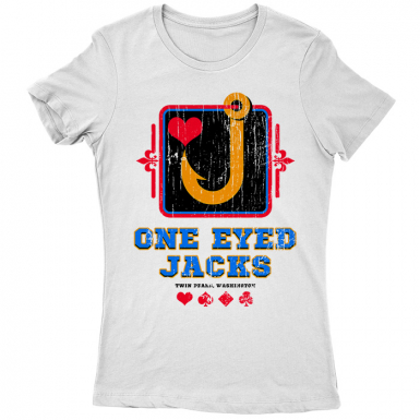 One Eyed Jacks Womens T-shirt