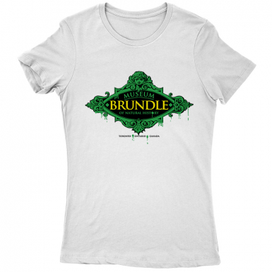 Brundle Museum Womens T-shirt
