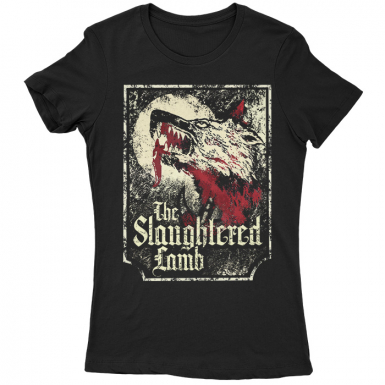 The Slaughtered Lamb Womens T-shirt