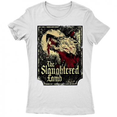 The Slaughtered Lamb Womens T-shirt